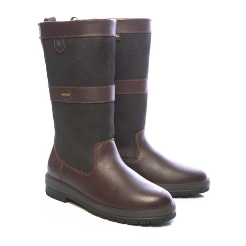 Dubarry Kildare Boots in Black / Brown