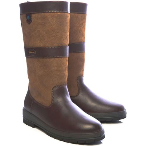 Dubarry Kildare Boots in Brown / Mahogany
