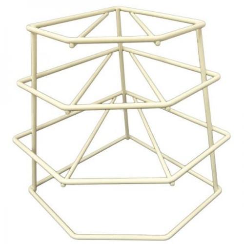 Delfinware 4T Plate Stacker Cream