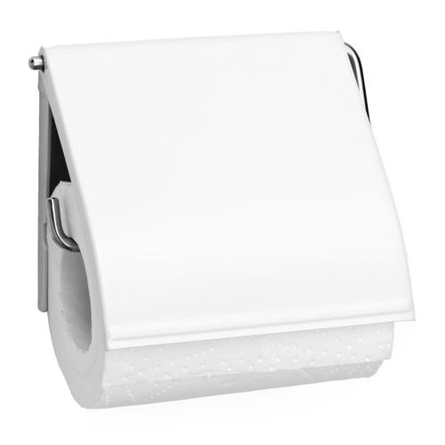 White Brabantia Toilet Roll Holder
