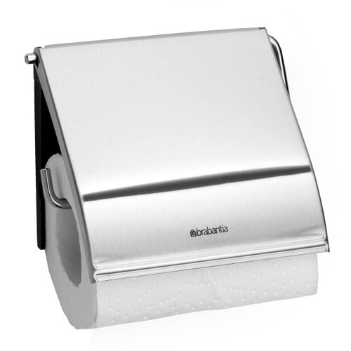 Matt Steel Brabantia Toilet Roll Holder
