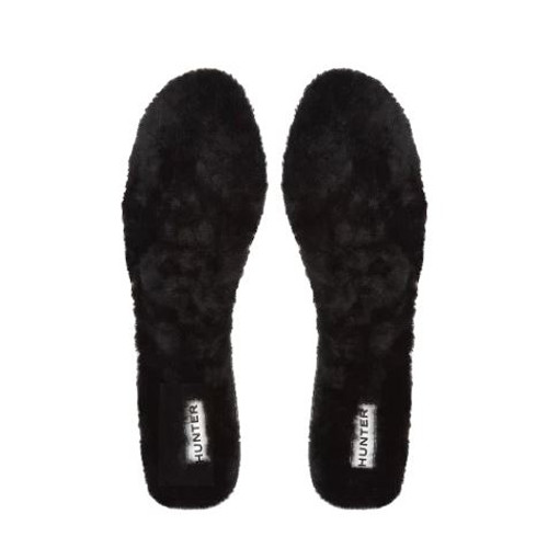 NEW HUNTER Luxury SHEARLING Insoles Black Or Beige Size 7 Womens NEW