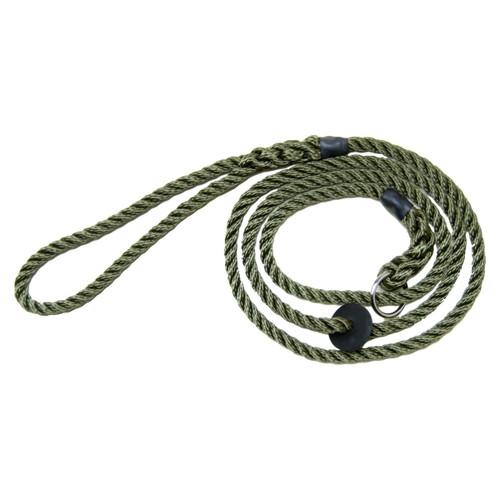 Bisley Deluxe Slip Dog Lead In Green
