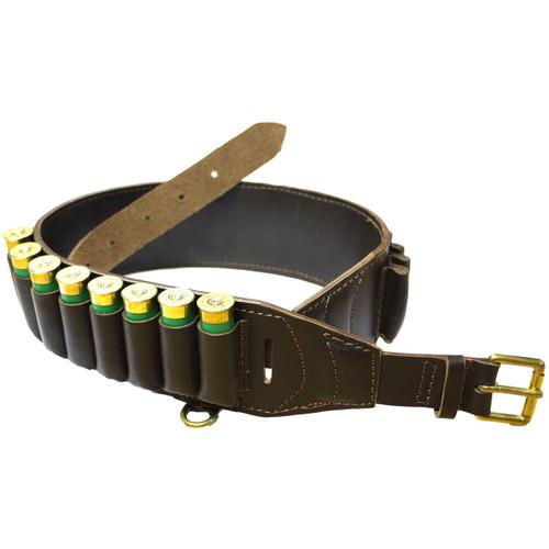 Bisley Deluxe Leather Cartridge Belt 12g