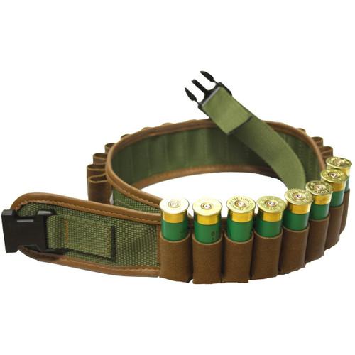 Bisley Leather On Webbing Cartridge Belt