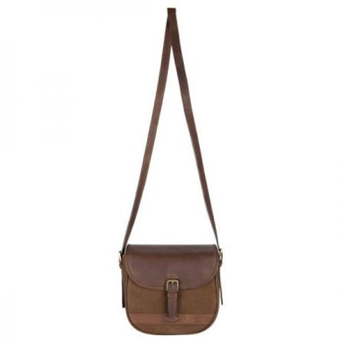 Dubarry Clara Large Saddle Style Bag in Walnut