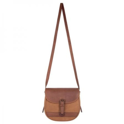Dubarry Clara Large Saddle Style Bag in Brown