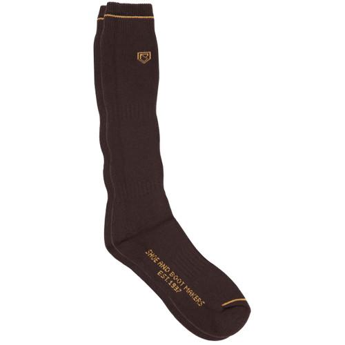 Dubarry Boot Socks Long in Brown