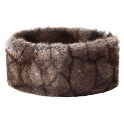 Dubarry Ladies Faux Fur Headband in Elk