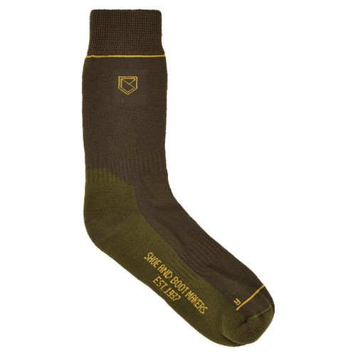 Dubarry Kilkee Short PrimaLoft Socks in Olive