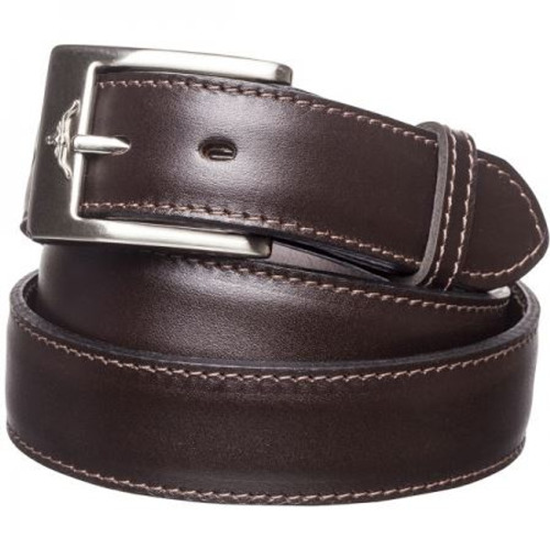 Brown R.M. Williams Mens 1.25 Inch Dress Belt