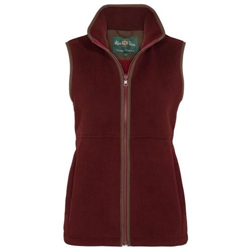 Bloodstone Alan Paine Womens Aylsham Fleece Waistcoat