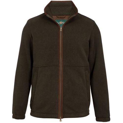 Green Alan Paine Mens Aylsham Windblock Fleece Jacket