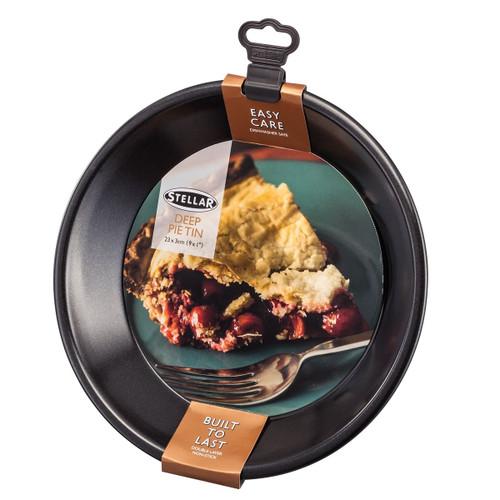 Stellar Bakeware Non-Stick Deep Pie Tin