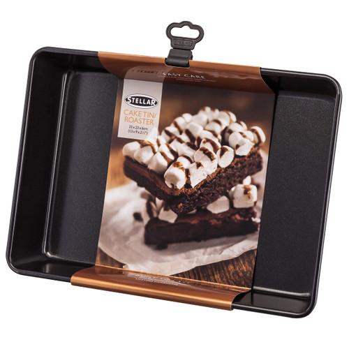 Stellar Bakeware Non-Stick Cake Tin/Roasting Tray