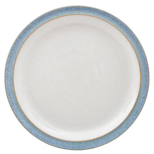 Denby Elements Light Blue Medium Plate