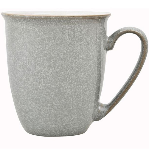 Denby Elements Coffee Beaker Mug in Light Grey