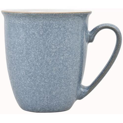 Denby Elements Coffee Beaker Mug in Light Blue
