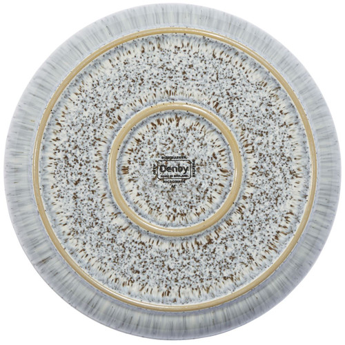 Denby Halo Speckle Medium Coupe Plate