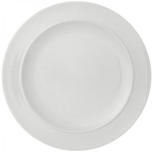 Denby White By Denby Dinner Plate