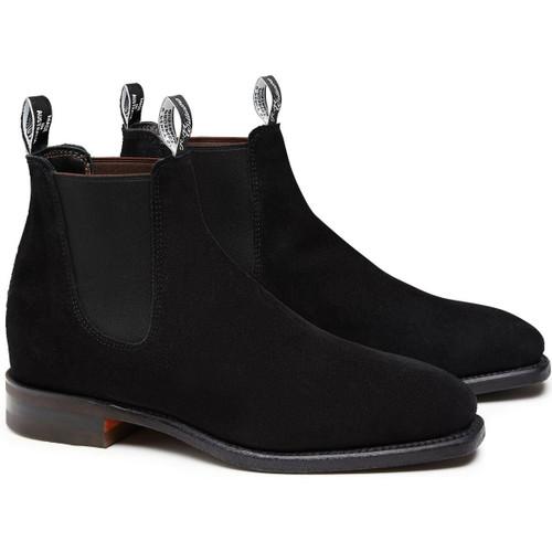 R.M. Williams Mens Suede Comfort Craftsman Boots