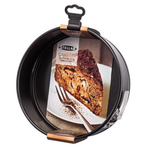 Stellar Bakeware Non-Stick Round Cake Tin Springform