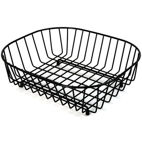 Delfinware Oval Sink Basket Black