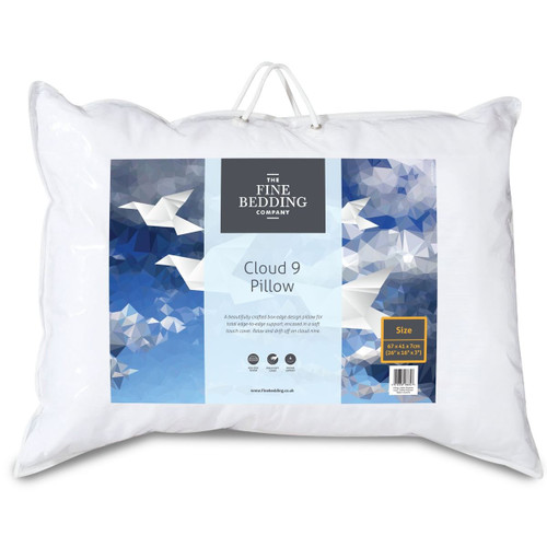 The Fine Bedding Company Cloud 9 Pillow packaging