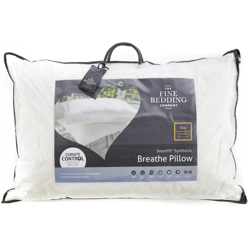 The Fine Bedding Company Breathe Pillow packaging