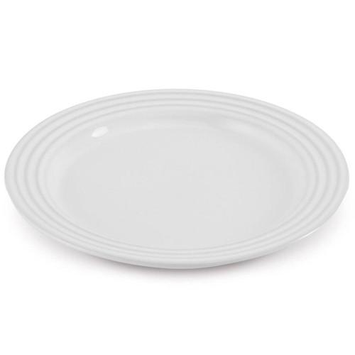 White Le Creuset Stoneware Side Plate