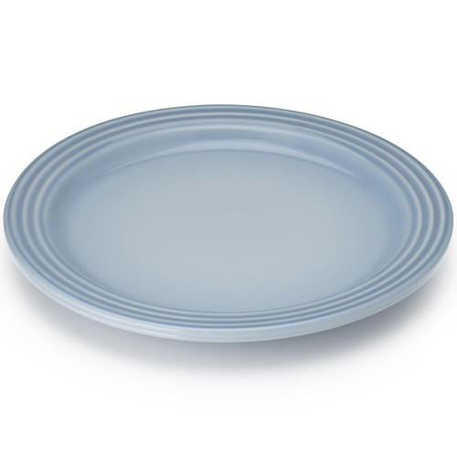 Coastal Blue Le Creuset Stoneware Dinner Plate
