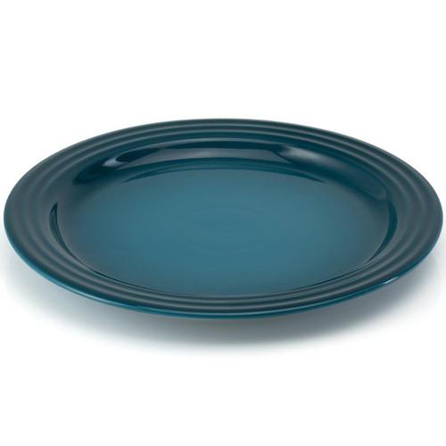 Deep Teal Le Creuset Stoneware Dinner Plate