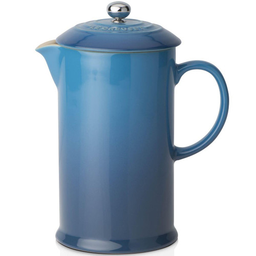 Marseille Le Creuset Stoneware Cafetiere With Metal Press