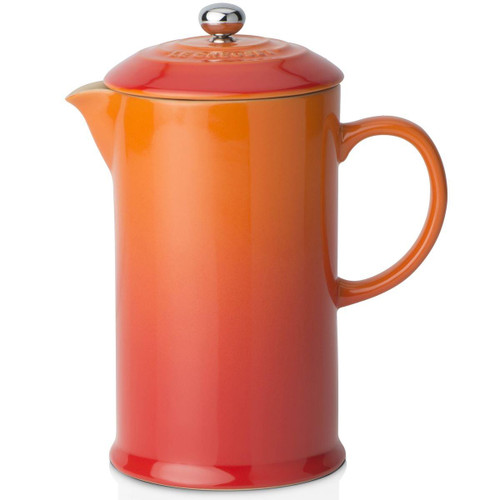 Volcanic Le Creuset Stoneware Cafetiere With Metal Press