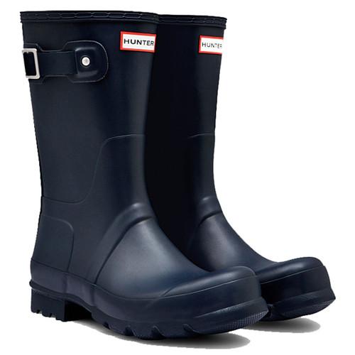 Hunter Mens Original Short Wellington Boots