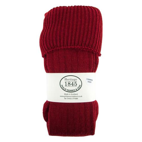Heritage 1845 Mens Scarba Classic Boot Sock