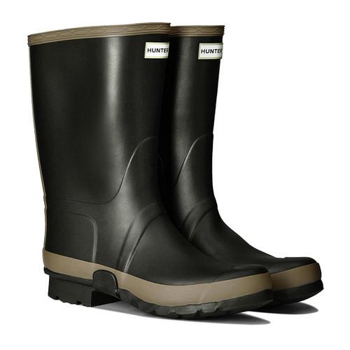 Dark Olive/Clay Hunter Mens Gardener Boots