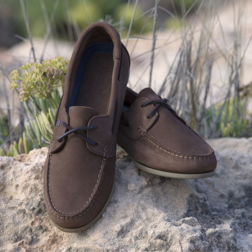 Dubarry Aruba Deck Shoes in Cafe