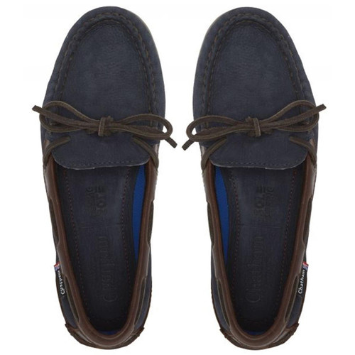 Navy/Seahorse Chatham Womens Olivia G2 Deck Shoes