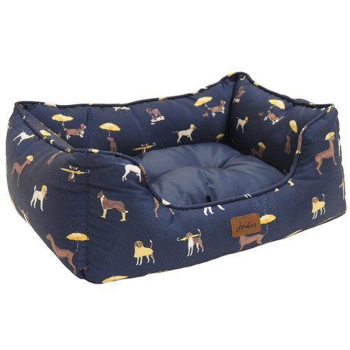 Joules Dog Print Dog Bed