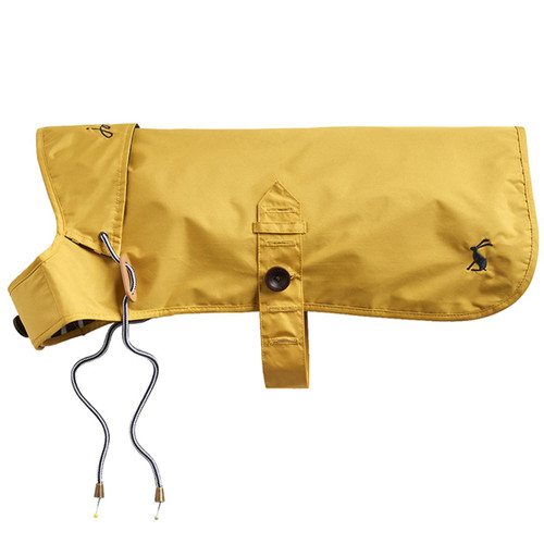 Mustard Joules Water Resistant Dog Coat