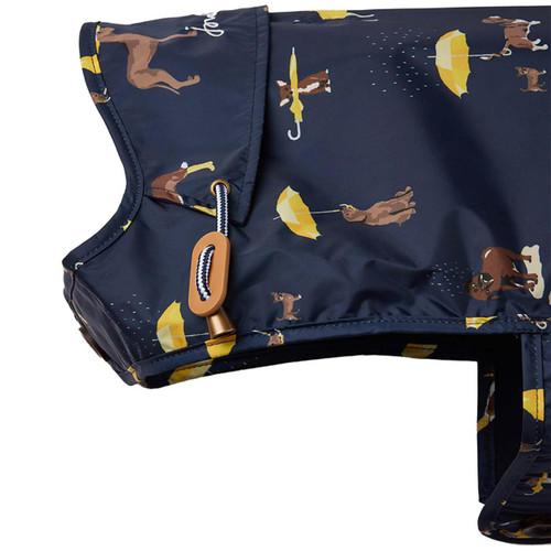Joules Navy Water Resistant Dog Coat
