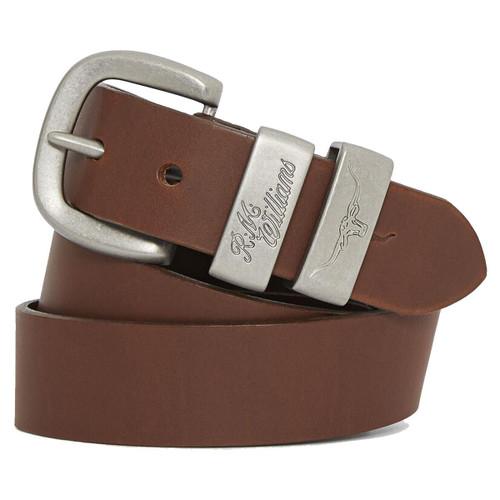 R.M. Williams Mens 3 Piece Buckle Work Belt