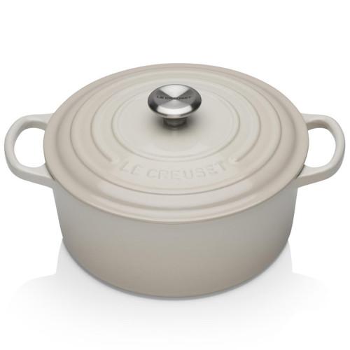 Meringue Le Creuset 20cm Cast Iron Round Casserole