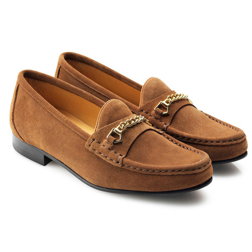 Tan Fairfax & Favor Apsley Suede Loafer