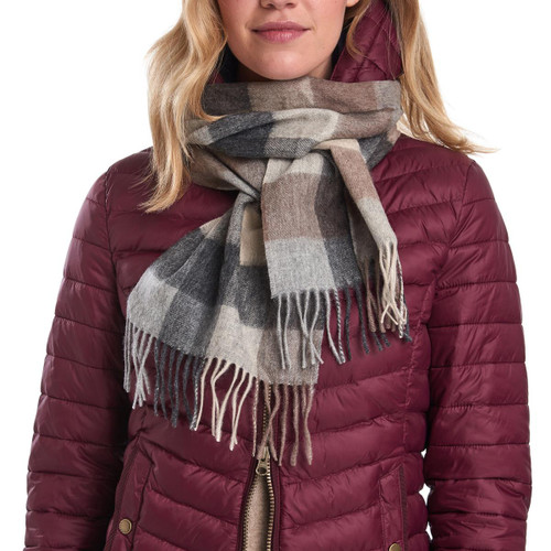 Barbour Unisex Large Tattersall Scarf