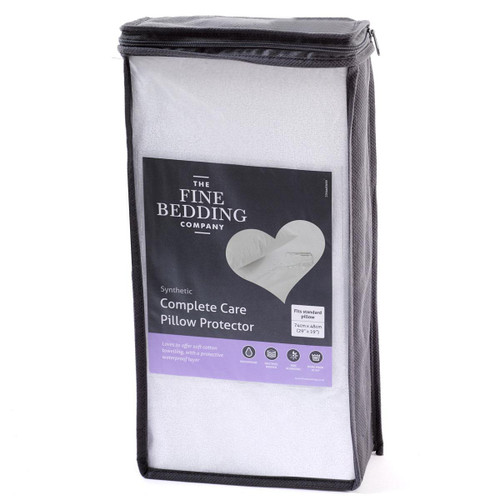 The Fine Bedding Company Complete Care Pillow Protector Pair