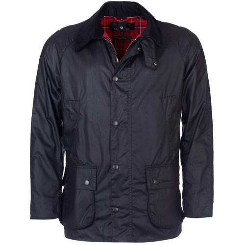 Black Barbour Mens Ashby Wax Jacket