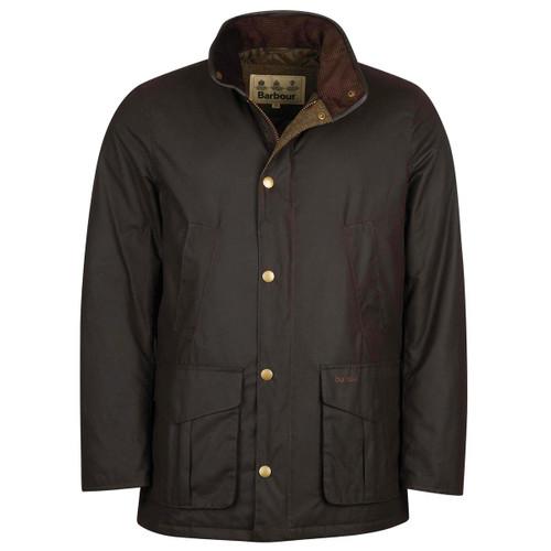 Rustic Barbour Mens Hereford Wax Jacket