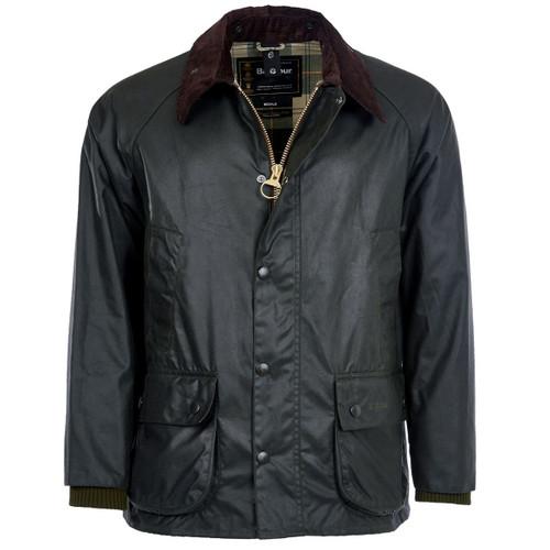 Sage Barbour Mens Bedale Wax Jacket